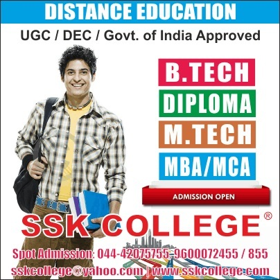 b tech through distance education