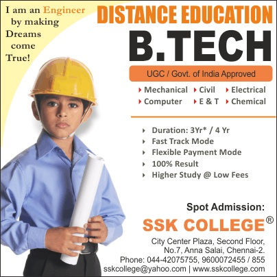 Btech Through Distance Education M.Tech Correspondence