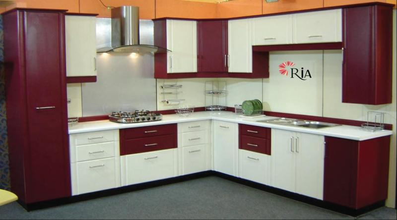 Wide ranges of Modular kitchens  at affordable rates
