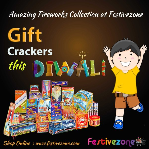 Shop your favourite crackers Online with Festivezone