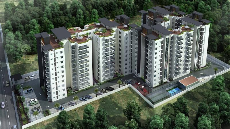 Princeton Luxury Apartments in South Bangalore,Booking Started