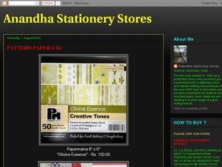 Anandha Stationery Stores