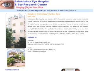 Balakrishna Eye hospital