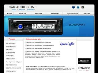 CAR AUDIO ZONE