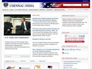 Chennai consulates & embassies