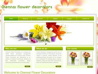 Chennai flower Decorates