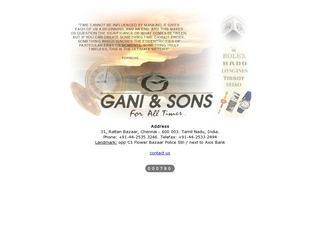 Gani & Sons