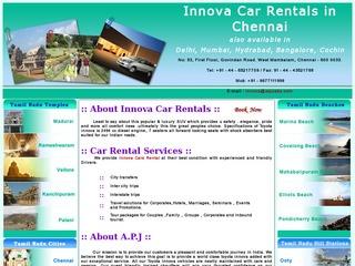 Tour Packages in Chennai  --  APJ Cabs Chennai