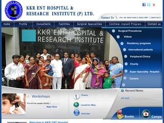 KKR ENT HOSPITAL & RESEARCH INSTITUTE (P) LTD.