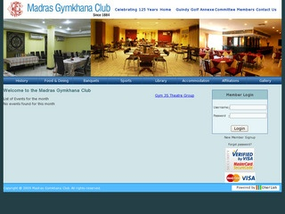 Madras Gymkhana club
