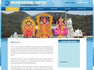 Mahalakshmi travels | tirupati tour packages from chennai