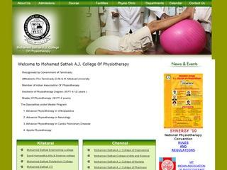 Mohamed Sathak A.J College of Physiotherapy