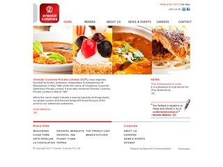 oriental cuisines
