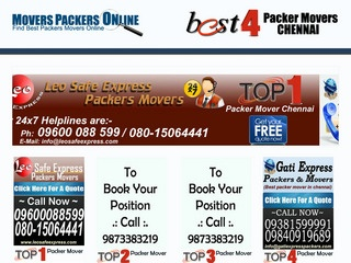 Rapid along with Reliable Packers and Movers Chennai