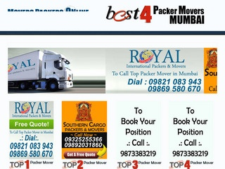 Rapid along with Reliable Packers and Movers Mumbai