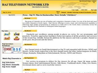 Raj Television Network LTD