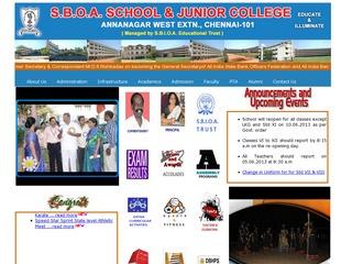 S.B.O.A School