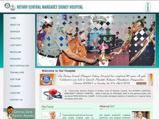 ROTARY CENTRAL MARGARET SIDNEY HOSPITAL