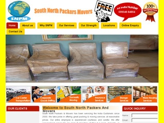 South North Packers and Movers-9904684804