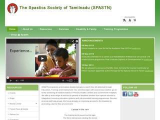 The Spastics Society of Tamilnadu (SPASTN)