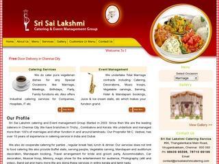 Sri Sai Lakshmi Catering Service