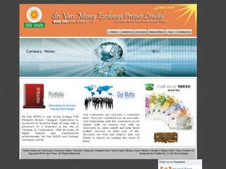 Sri Vari Money Exchange (P) Ltd.,