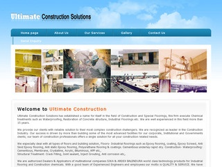 Ultimate Construction Solutions
