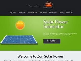Zon India - Solar Power Products chennai
